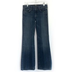7 For All Mankind Wide Leg Flare Jeans